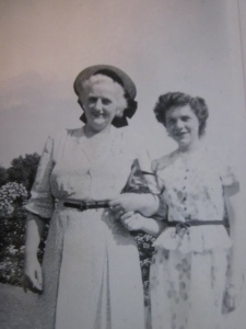 Grandma Henk with my Mom, Mary Pat McFerran.